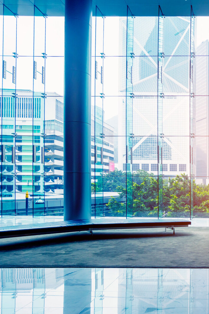 canstockphoto19362831 Glass wall in office building